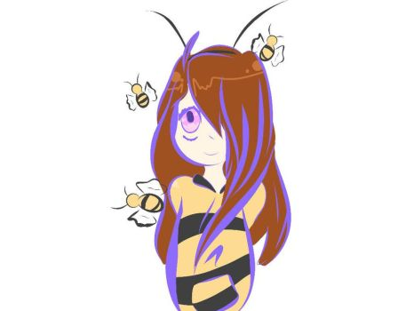 Bumble Bee Girl by CandyKieran