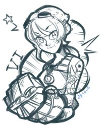 HERE COMES VI! by SketchesLikeaBoss