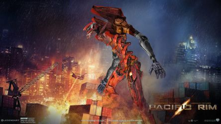 EVANGELION X PACIFIC RIM by moothalog