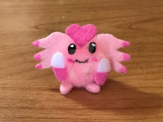 Pom-Pom Pokemon: Happi (Beta Blissey) by LuckyNumber113