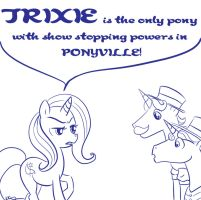 TRIXIE IS of course. by bunnimation