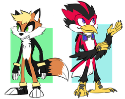 sonic ocs {closed} by scovt