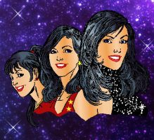 Donna Troy thru the years by markdominic