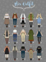 (OPEN 2/15) Casual Outfit Adopts 05 by Rosariy