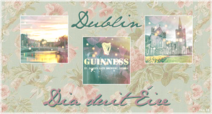 Set Icons Favourite City: Dublin by fairypoetess