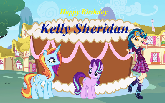 Happy Birthday, Kelly Sheridan by Tyler3967
