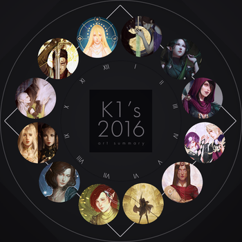 2016 Summary of Art by katorius