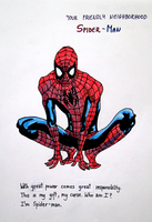 Who am I? I'm Spiderman by YummyBiscuit