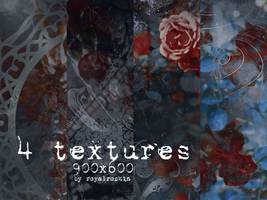 4 TEXTURES 900x600 by royalrockin