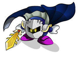 [Gift] Meta knight by Crashkirby888