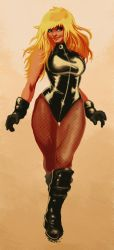 FC COMM 2012 1 Black Canary by ShannonDenise
