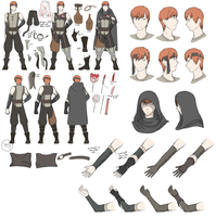 FE:A - Gaius Reference Sheet by DragonBladerX