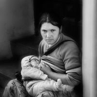 mother and child by VaggelisFragiadakis