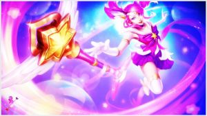 [LoL] Star Guardian Lux (Wallpaper) by PopokuPinguPop90