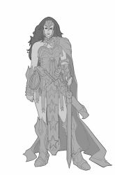 Comicon Challenge 2014 Wonder Woman redesign by Rayph