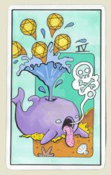 5 of pentacles by smushbox