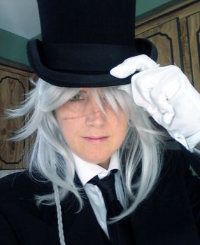Principal Undertaker Cosplay 1 by Paine77