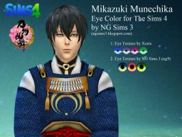 Mikazuki Munechika Eye Color for The Sims 4 by ng9