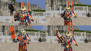Kamen Rider Gaim Kachidoki Arms (BattRide War 2) by Zeltrax987