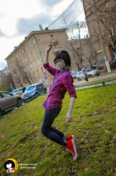 Adventure Time. Marshall Lee [1] by hitomi-chii