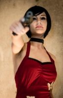 ADA WONG COSPLAY RESIDENT EVIL 4 !!! by AllyAuer