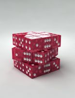 cubic rubic dice by Pushok-12