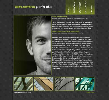 Benijamino Portfolio by SXSaix by templateartists