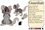 Guardian Reference Sheet by MinoesTheKitty