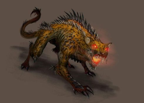TALOC: Jaguar Hellbeast by GraphicGeek