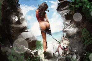 Dogs are a man's best friends... by SchroedingerTales