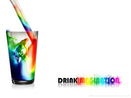 Drink Imagination - Wallpaper by byCavalera