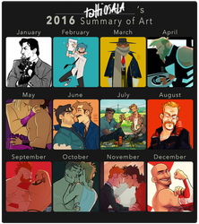 2016 Summary of Art by tattiOsala