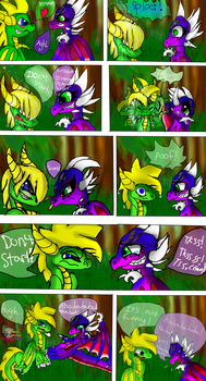 Funny moments with Sparrow by AngelCnderDream14