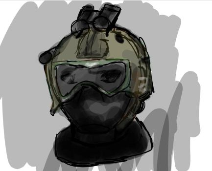 ::SKETCH REQUEST:: Shadow company operator by Kally808