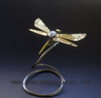 Watch Parts Dragonfly No 21 by AMechanicalMind