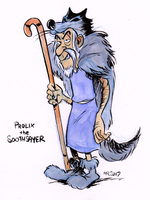 Finktober - Prolix the Soothsayer by TopperHay