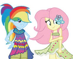 Equestria Girls - Legend of Everfree - Art by Pastel-Pony-Artist