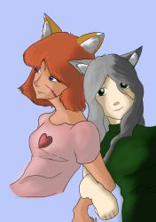 Yumi and Ame Color Edition by mistformsquirrel
