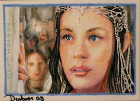 Queen Arwen by DavidDeb