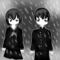 rain by yumethenekomata