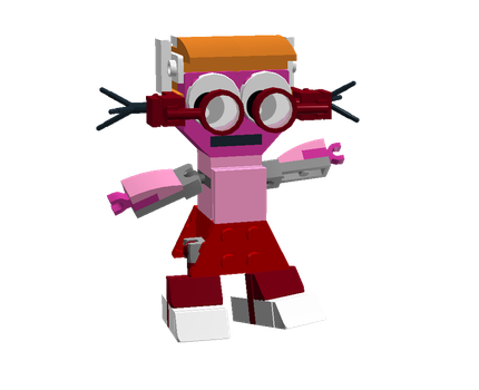 LEGO Fairly Odd Mixes: Alyssa by Luqmandeviantart2000