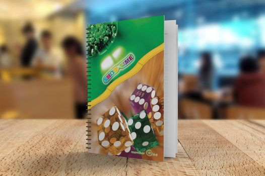 A5 Notebook Mockups by Itembridge