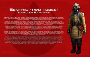 Benthic 'Two Tubes' character bio [New] by unusualsuspex