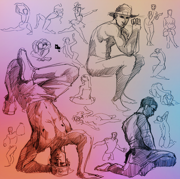 Daily Gesture 332 by abrahamdavid