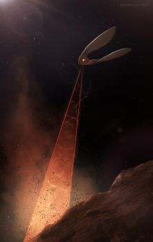 Xeelee Sequence Mercury Excavation by ArtOfSoulburn