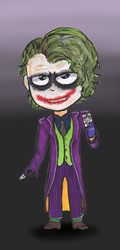 Joker 2008 by ShanteiDraws