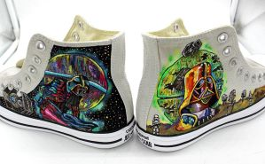 Dath Vader Rising shoes 02 by Demonescuro