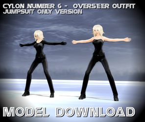 [MMD] C6V2 - Overseer outfit - Model DL by Riveda1972