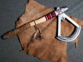 Assassin's Creed III - Tomahawk by zahnpasta