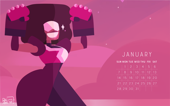 the birthstone of January: GARNET! by weirdlyprecious